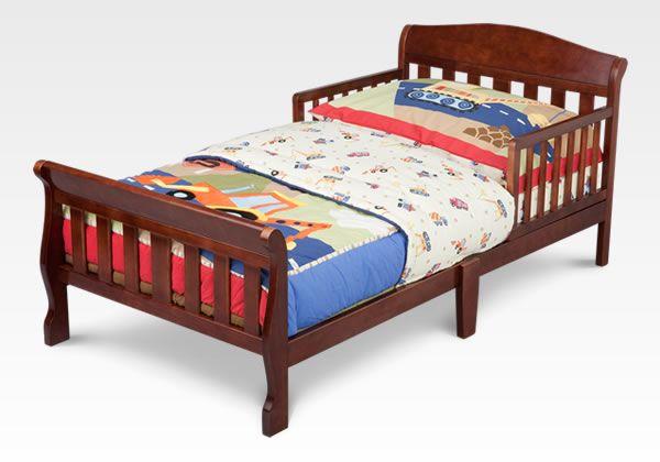 Canton Toddler Bed Espresso Cherry #bedroom #toddler #furniture