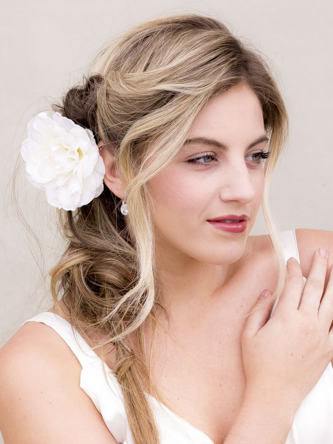 """Camellia Bridal Hair Flower - """"Gentry"""" - Bridal Hair Accessories by Hair Comes the Bride"""