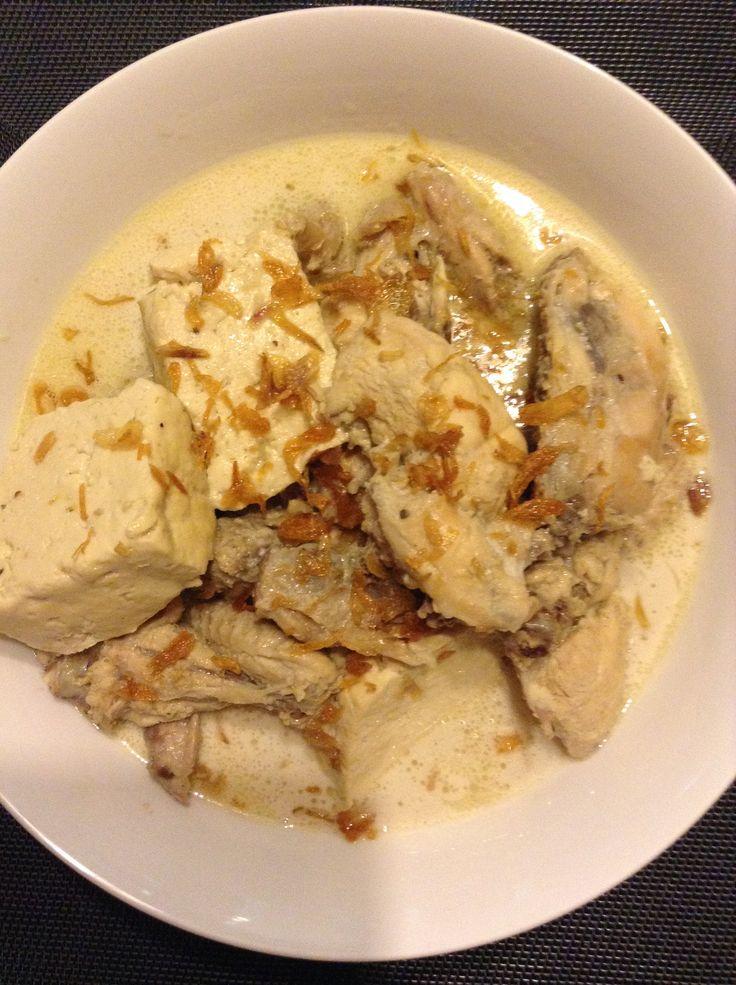 Opor ayam tahu #homemade #masakankoe