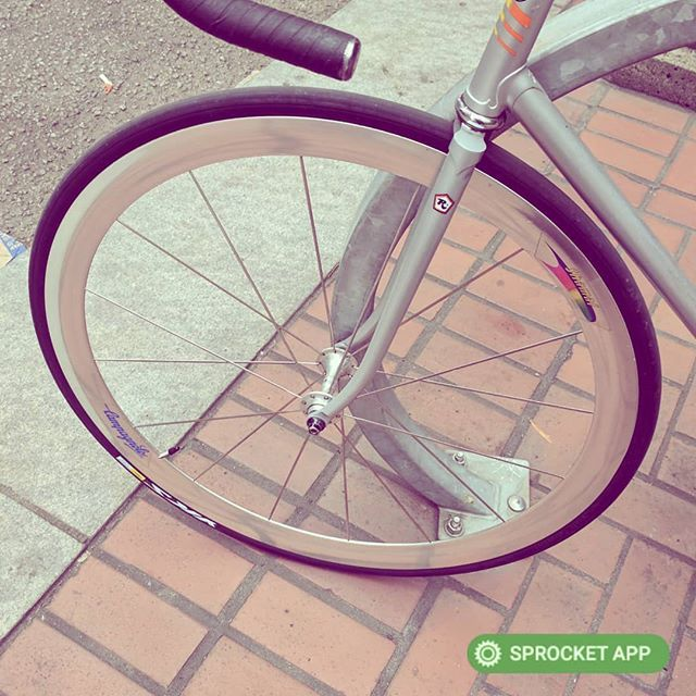 1990s Campagnolo Shamal Wheel On Sf Fixie Sell Your Parts Bikes