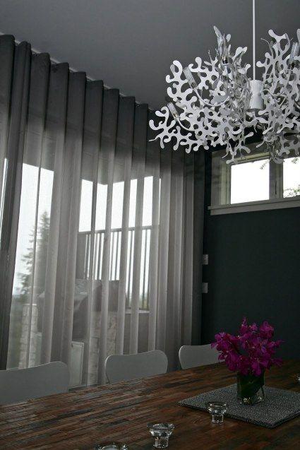 Ripplefold Curtains   Curtain Otaku   Soft grey sheers