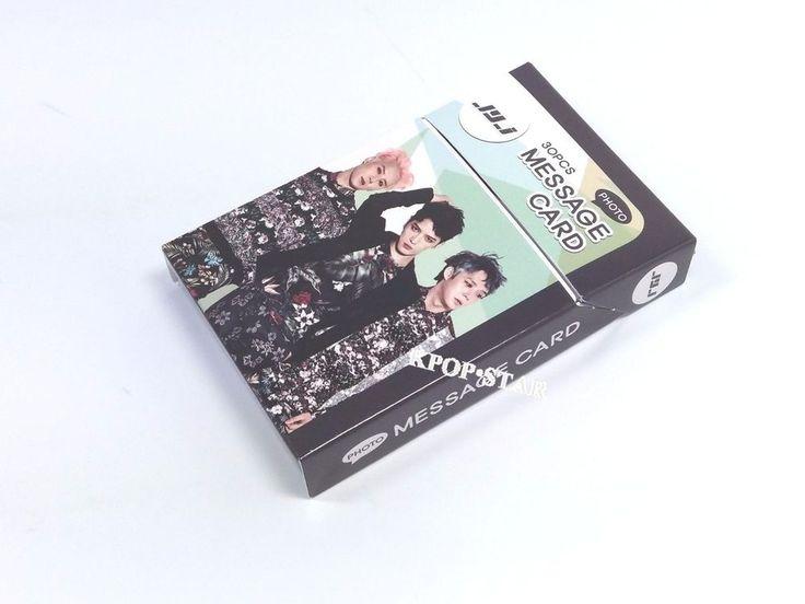 JYJ JAE JOONG YUCHEON JUNSU Photo Message Card ( 30 Piece ) KPOP Korean K Pop