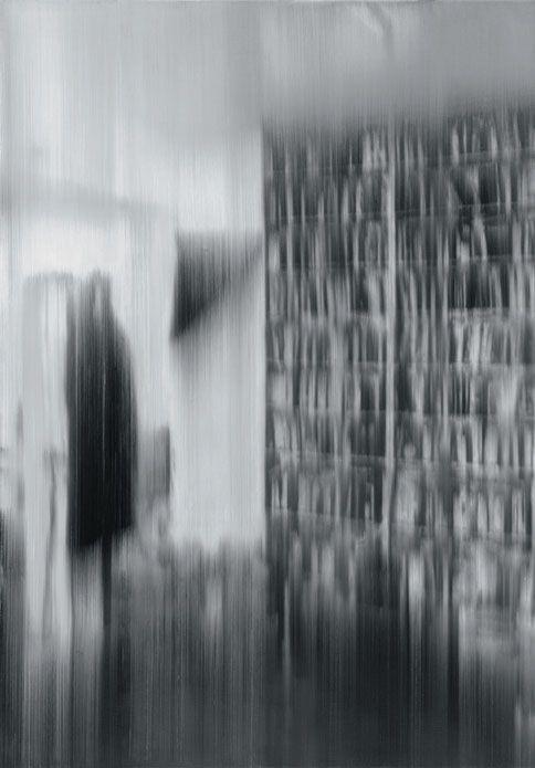 Gerhard Richter ghost portrait