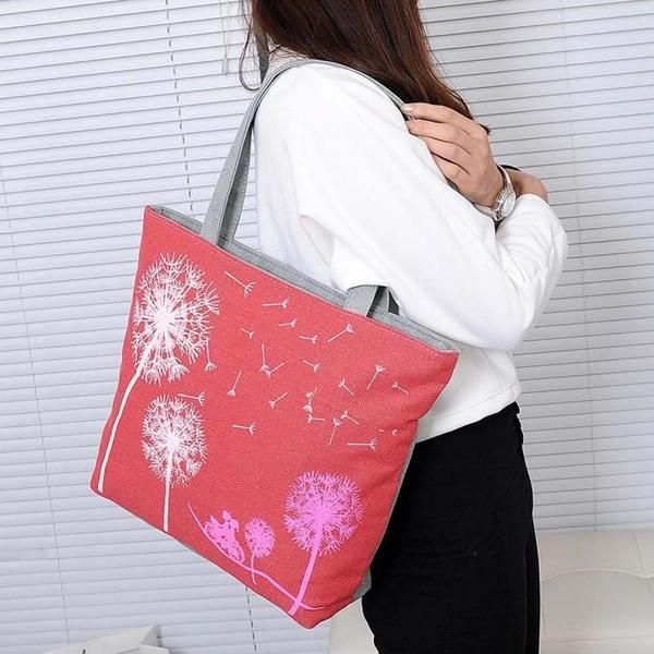 Dandalion Canvas Bag  >>Check these Bags at   >> https://www.itemsforwomen.com/collections/bags
