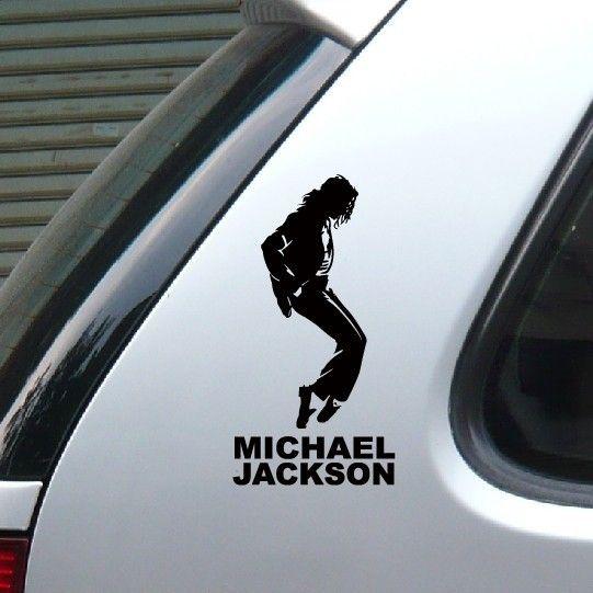 カースタイリングマイケルジャクソン古典ダンスステッカー高品質面白いビニール車のステッカーとデカール