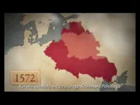 Polska Poland Borders 990 - 2008 - YouTube