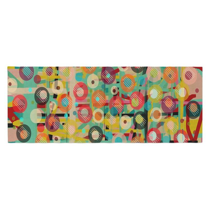 Bri Buckley Gift Wrapped Crazy Bed Runner by Kess InHouse - BB1002ABR01