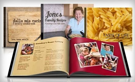 Photo book personalized cookbook - fun gift....I am so doing this!!! I only wish I had started on it sooner! Maybe give to my kids on their wedding day?