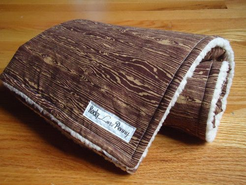Baby Blanket, Joel Dewberry Woodgrain Bark by Rocky Loves Penny contemporary baby bedding