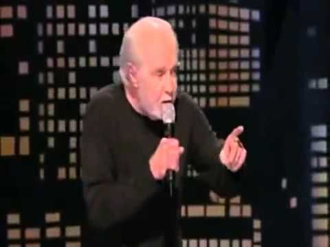 George Carlin The Best 3 Minutes of His Career - YouTube