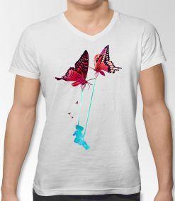 papillon de rêver t-shirt design personnalisé dzgraphique Algérie online shopping