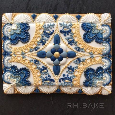 ♔ Cookies | Uℓviỿỿa S. Baroque 『ボタニカルデザイン』