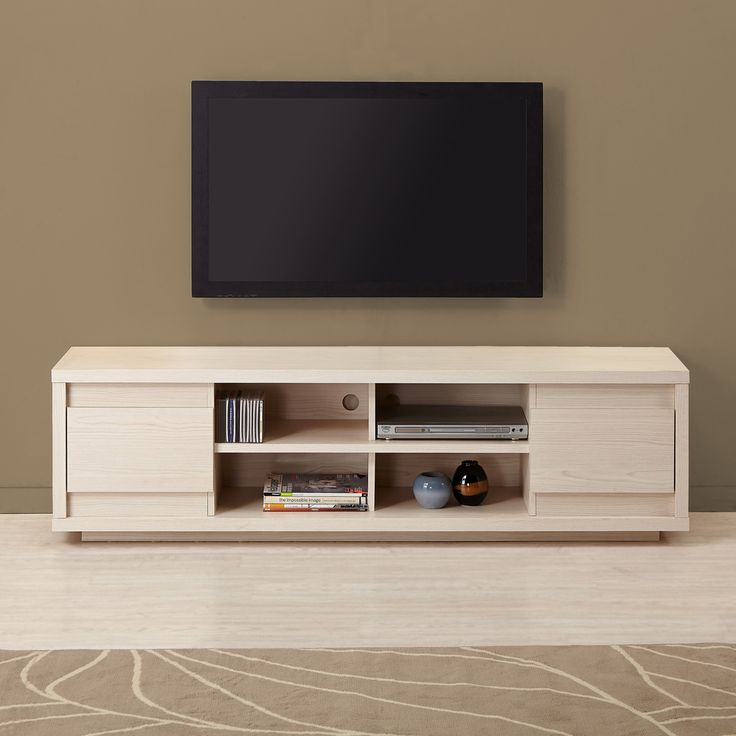 Furniture Of America Irvine Contemporary 70 Inch Entertainment TV Console    Overstock™ Shopping