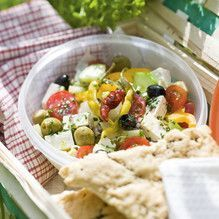 Tupperware - Balkon-Salat