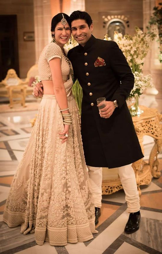 "Custom made Bridal http://www.Sabyasachi.com/ #Lehenga for Shaana Levy Bahl. ""our stylist at www.bridelan.com will help you shop for your dream wedding lehenga."""