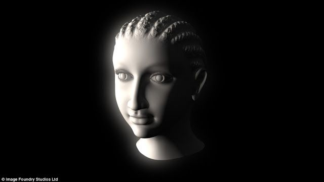 The Real Face of Queen Cleopatra      Scientists believe that this 3D image of the Egyptian queen is the most realistic of all the previous versions. Composed of the fragments on ancient artifacts, including a ring with the image of Cleopatra, referring to her reign more than 2000 years ago, the 3D-portrait is the culmination of 1-year-long research.