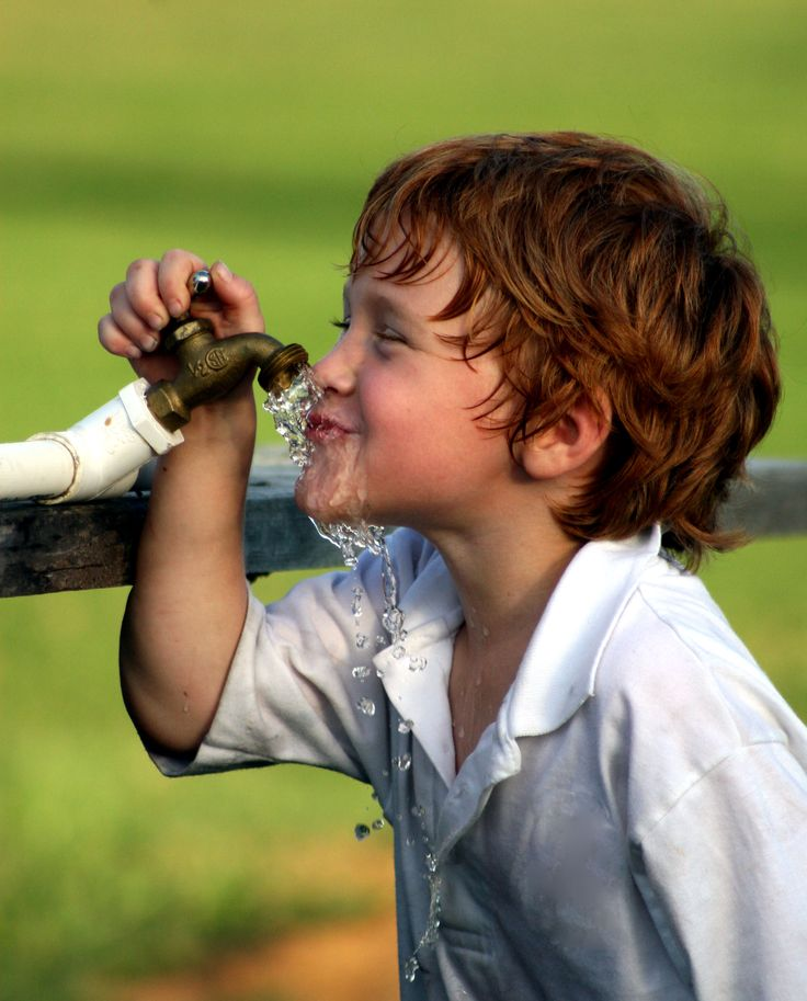 Boy cut for longer hair...How else would you drink water from a faucet!
