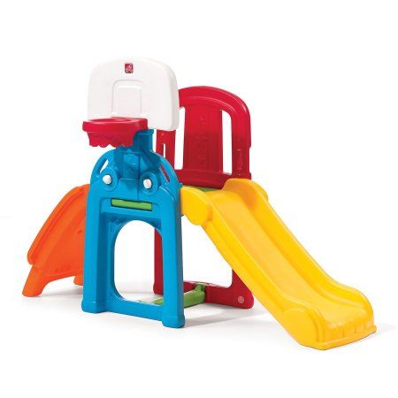 Free Shipping. Buy Step2 Toddler Kid Outdoor Game Time Sports Climber Activity Jungle Gym Playset at Walmart.com