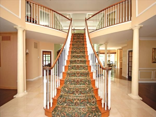 Foyer Stairs For Sale : Luxury home for sale in the coveted quot winding ridge