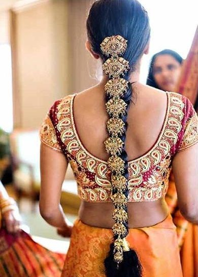 I Mehndi Hairstyles Dailymotion : Most beautiful paranda designs for girls and women