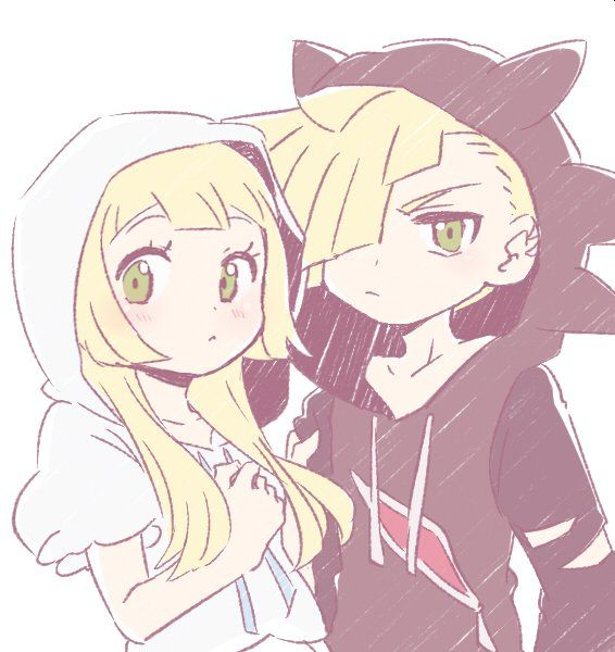 If Gladion ever puts up his hood and it looked like that I think I'd scream... and take a picture.... And make it my wallpaper on my phone