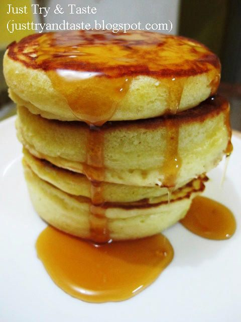 Just Try & Taste: Delicious Pancakes