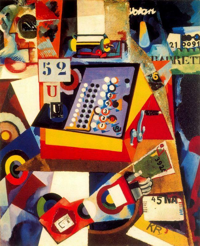 Writing Machine - Amadeo de Souza Cardoso