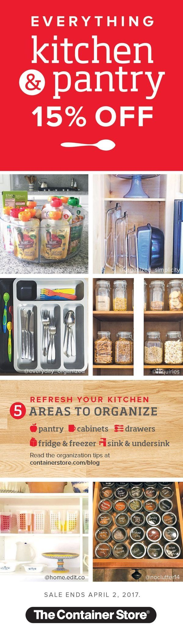 600 best kitchen organization images on pinterest | kitchen