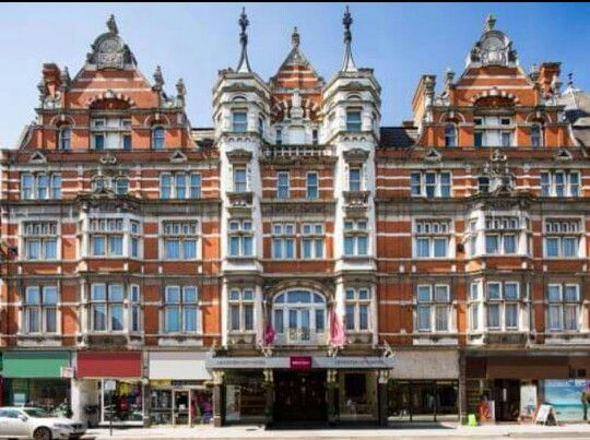 The Grand Hotel on Granby Street. Marco Pierre White has a restaurant in here now