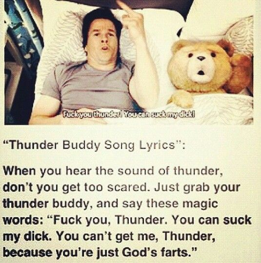 thunder buddy song lyrics