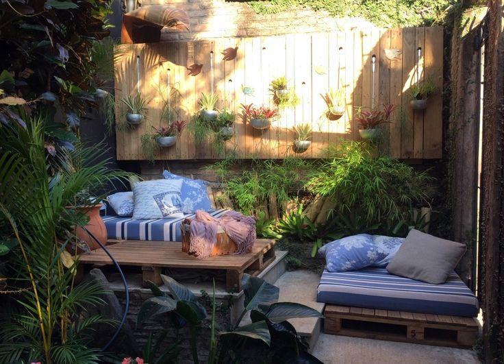 Patios y jardines rusticos dise o de jardines for Ideas de jardines rusticos