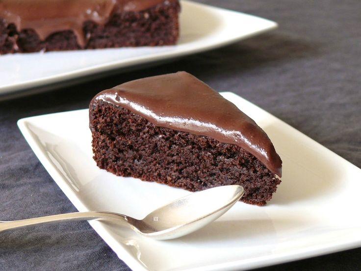Un moelleux au chocolat sans gluten...