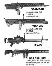 facts about machine guns in ww1