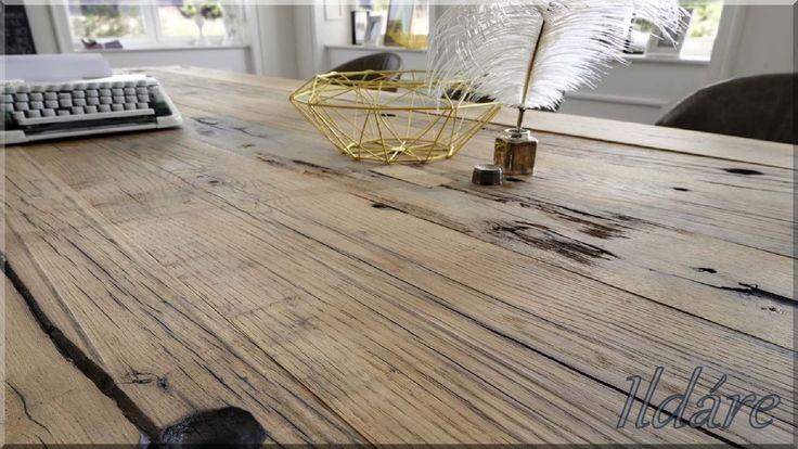 Asztallap bontott pallókból