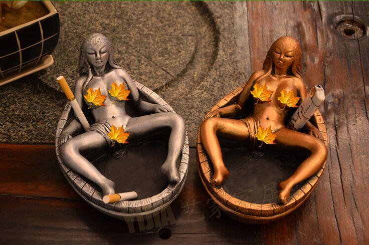 2016 creative personality  customized figure shape ashtray KTV bars furnishing articles Boyfriend birthday gifts