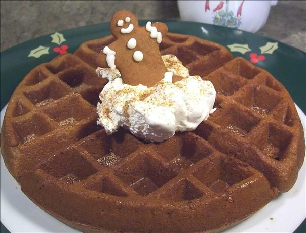 Gingerbread Waffles Recipe - flour, baking powder, baking soda ...