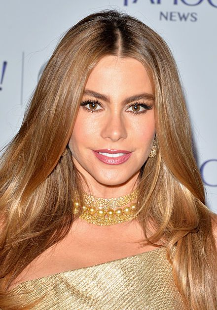 Sofia Vergara attends the Yahoo News/ABCNews Pre-White House Correspondents' dinner reception, May 2014