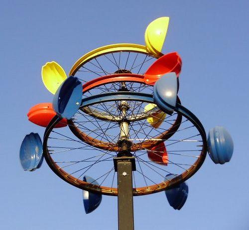 Mobile Sculpture Wind Sculptures Kinetic Art Yard