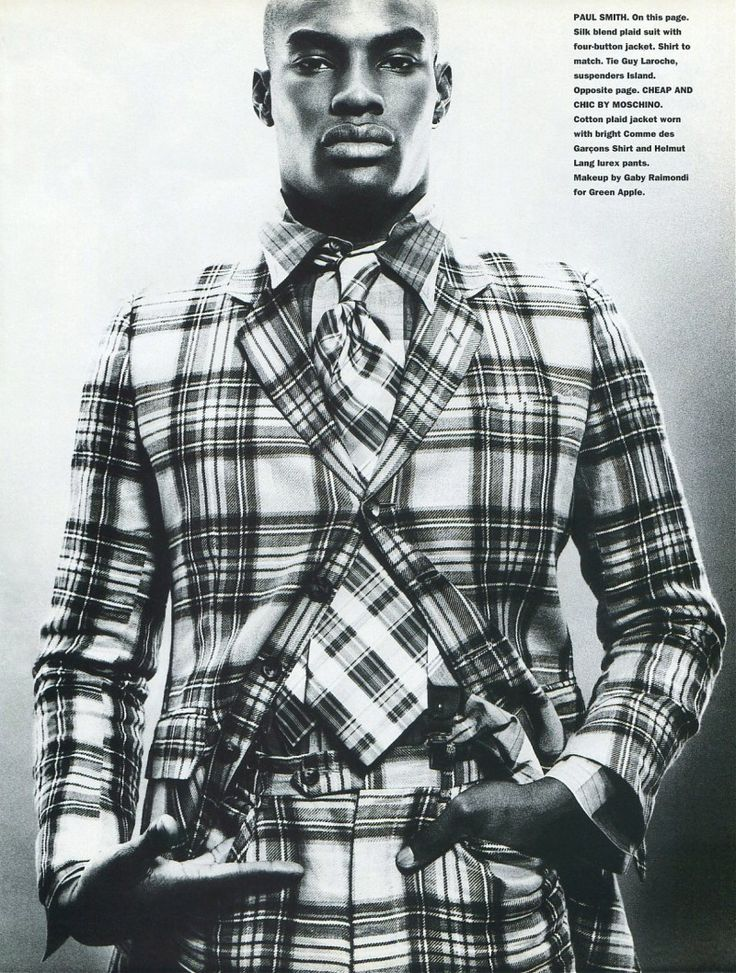 TBT: Tyson Beckford in 1994 Fashion Spread for Mondo Uomo It  image Tyson Beckford Editorial Photos 006 800x1058
