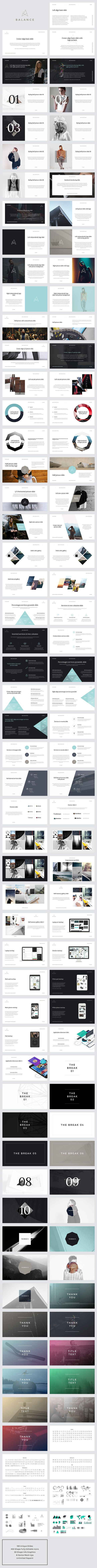 BALANCE Keynote Presentation by GoaShape on Behance