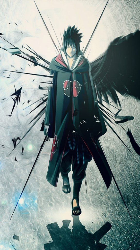 Naruto Sasuke Uchiha Best Quality 4k Hd Mobile Wallpaper