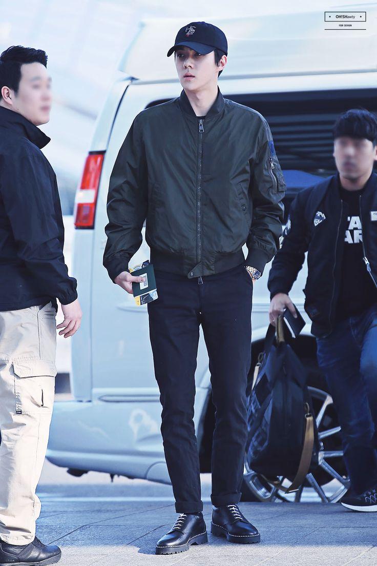 160226 EXO Sehun | Incheon Airport to Jakarta