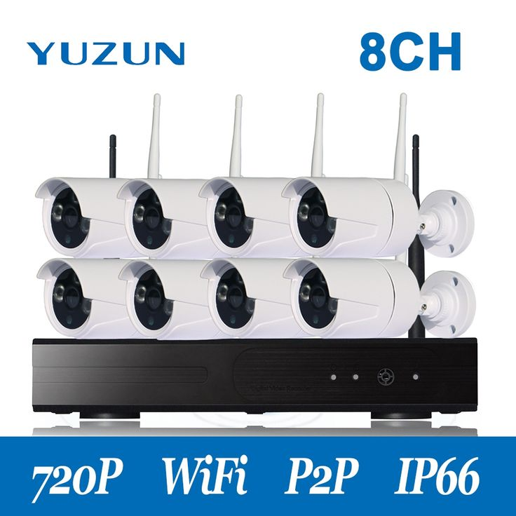 367.99$  Know more  - 720P  8 channel cctv kit  Wireless NVR CCTV System  hd  camera  set for home factory office  outdoor indoor