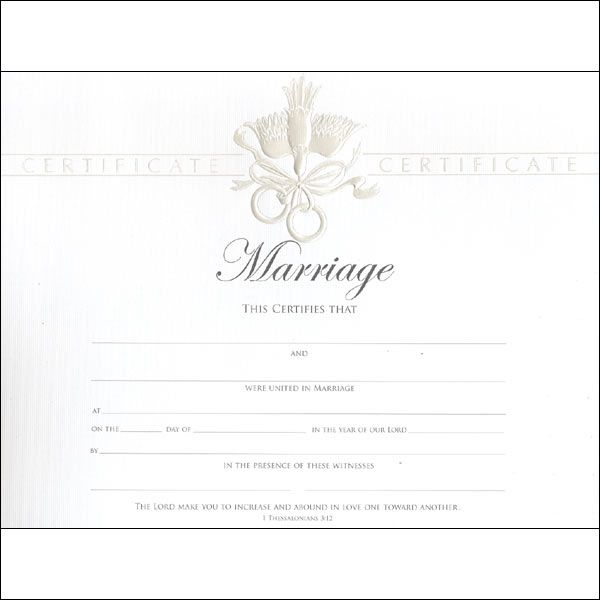 27 best Marriage Certificates images on Pinterest Marriage - marriage certificate