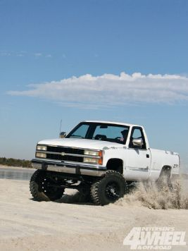 Solid Axle 1992 Chevy 1500