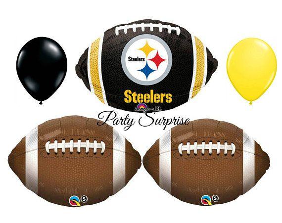 Football Balloons Pittsburgh Football Steelers Football