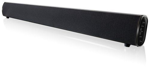 """iLive ITB382B Bluetooth Sound Bar with AM/FM Radio(Black,1) by iLive. $97.38. Immerse yourself in luxurious 2.1-channel audio from your Bluetooth-enabled MP3 player, television, DVD player, or video game system with this 37"""" iLive Bluetooth Sound Bar. Simply connect to a TV or your favorite audio/video devices. It supports Bluetooth v2.1 with a wireless range up to 33 feet. It also supports and A2DP (Advanced Audio Distribution Profile). There is an AM/FM radi..."""
