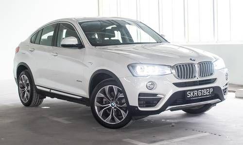 #BMW #X4. Elle Associe l'esthétique d'un coupé avec le dynamisme et la puissance typiques des modèles BMW X.
