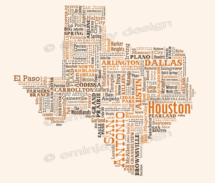 Best My Texas Soul Images On Pinterest Texas Forever Texas - Texas map of cities and towns