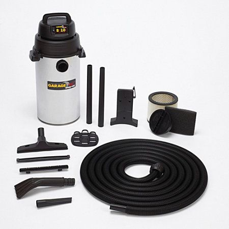 8 Gallon Wall-Mount Garage Vacuum